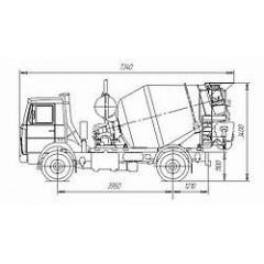 Tigarbo 4DA на шасси МАЗ 5337А2