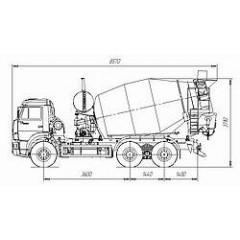 Tigarbo 8DA на шасси КАМАЗ 6520-61