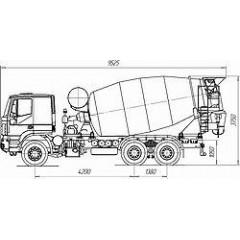 Tigarbo 9DA на шасси IVECO TRAKKER AT380T38H